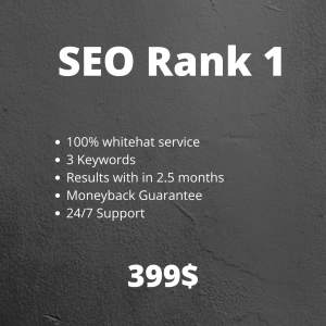 seo rank 1 service